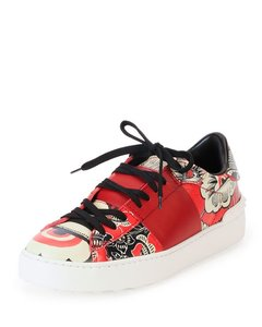 Valentino Red floral print Athletic