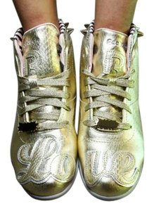 Reebok Studded Spike Gold Athletic