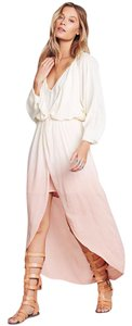 Blush Ombray Maxi Dress by Free People Midi High Low