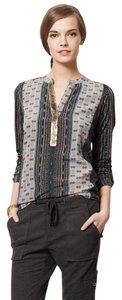 Anthropologie Sequin Top Multi