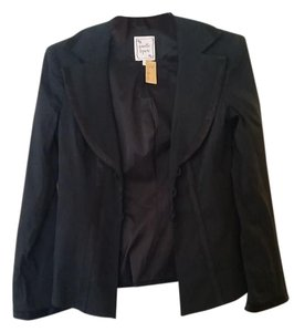 Nanette Lepore Business Corporate Office Black Blazer