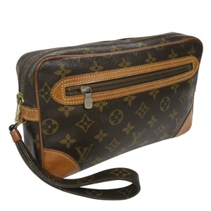 Louis Vuitton Speedy Neverfull Cosmetic Monogram Clutch