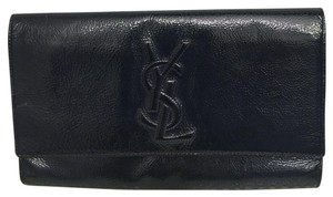 Saint Laurent Midnight Blue/ Navy Clutch