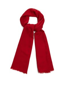 Raey Red Fine Wool Scarf