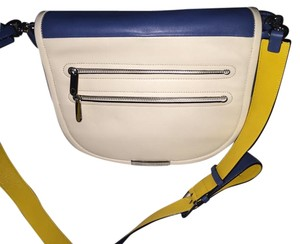 Marc by Marc Jacobs Leather Lined Bluestone Messenger Bag