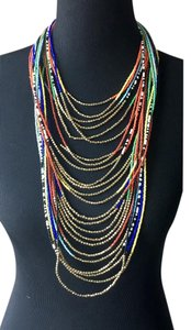 Cra Couture Jewelry Layered Seed Bead Necklace