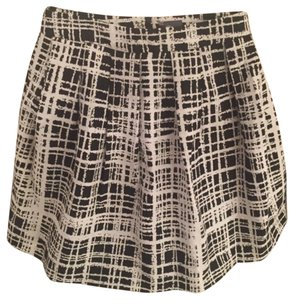 Sparkle & Fade Skirt Black and white