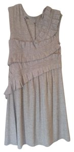 Anthropologie Knitted And Knotted Ruching Dress