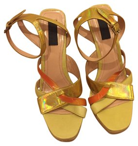 Derek Lam Yellow Platforms