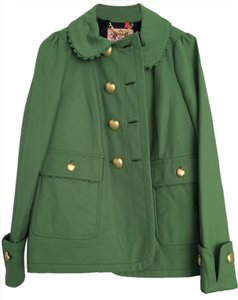 Juicy Couture Gold Apple Pear Pea Coat