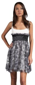 Jay Godfrey Formal Watercolor Cleavage Dress