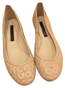 Gianfranco Ferre Luxury Beige Nude Flats