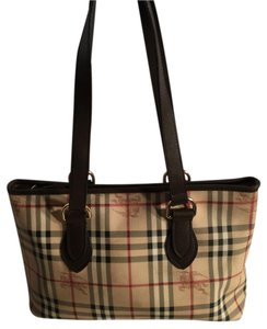 Burberry Satchel in Brown/Tan