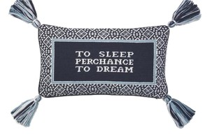 Tory Burch NWT TORY BURCH TO SLEEP PERCHANCE TO DREAM PILLOW $175