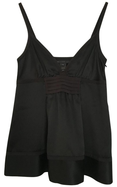 Preload https://img-static.tradesy.com/item/19451069/marc-by-marc-jacobs-black-silk-camisole-night-out-top-size-2-xs-0-2-650-650.jpg