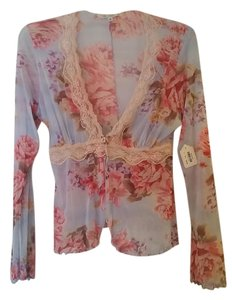 Claire Pettibone Bridal Gift Floral Print Shabby Chic Romantic Cath Kidston Cardigan