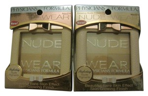Physicians Formula Nude Wear Glowing Nude Powder, Medium 6218 - Lot of 2