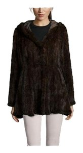 PERI LUXE Mink Fur Reversible Fur Coat