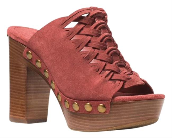 Item - Cinnamon - Burnt Orange Westley Mules Platforms Size US 7.5 Regular (M, B)