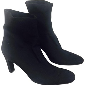 Robert Clergerie Ankle Sock Stretchy Chunky Black Boots