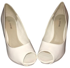 Call It Spring White Pumps