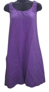 Lavender Maxi Dress by J. Jill Linen Summer