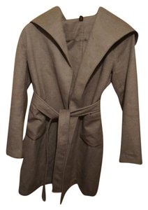 pink lady Wool Blended light weight coat