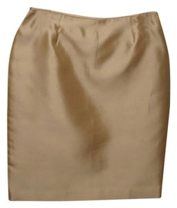 Talbots Skirt gold