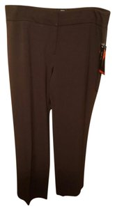 Style & Co Straight Pants Brown