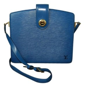 Louis Vuitton Leather Shoulder Cross Body Bag