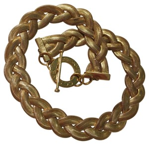 CC SKYE Gold Braided Wrap Around Toggle Bracelet