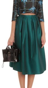 Tibi Skirt Emerald