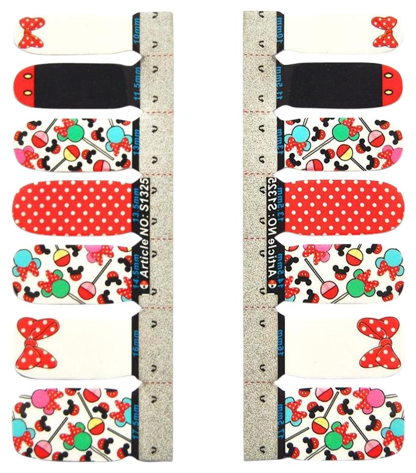 Disney Multi-colored New Minnie Mouse Nail Decals - Tradesy