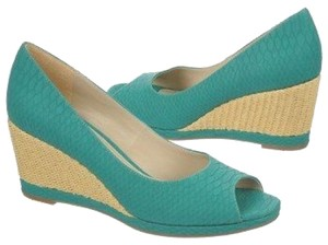 Naturalizer Turquoise Wedges