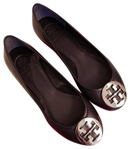 Tory Burch Black & Silver Flats