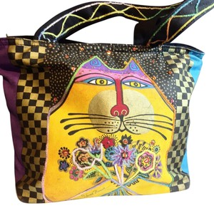 Laurel Burch Tote in Yellow
