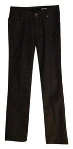Armani Jeans Dressy Casual Comfortable Straight Leg Jeans-Coated