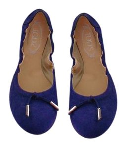 Tod's Lovely Color Comfortable Violet Flats