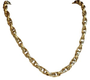 MONET Monet Heavy Thick Gold Chain Necklace