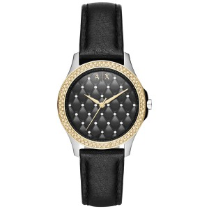 A|X Armani Exchange Armani Exchange Women's Lady Hampton Three Hand Leather Watch AX5246