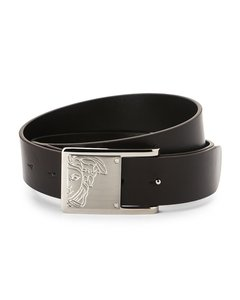 Versace VERSACE BROWN LEATHER BELT