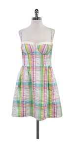 Lilly Pulitzer short dress Plaid Cotton Spaghetti Strap on Tradesy