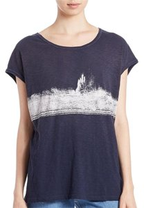 Free People T Shirt Blue