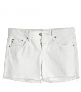 AG Adriano Goldschmied Cut Off Shorts White