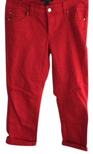 White House | Black Market Capris Red