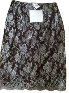 St. John Skirt Brown silver