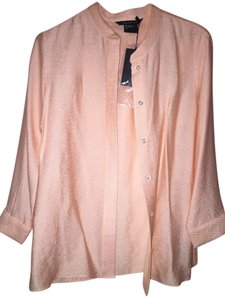 A|X Armani Exchange Top Peach