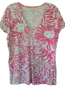 Lilly Pulitzer T Shirt Pink multi