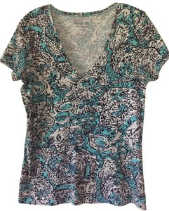 Lilly Pulitzer T Shirt Blue multi