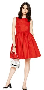 Kate Spade Bows Fit And Flare Dress